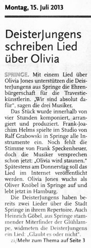 Deister Anzeiger, 15.07.2013
