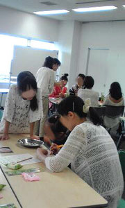 親子カービング教室-2