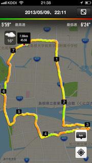 20130509-ジョギングコース松江