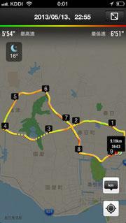 20130513-ジョギングコース松江