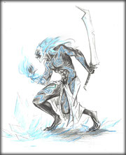 Mandragore Eldar Noir par Graphigaut