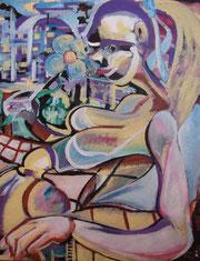 acrylique sur toile 46x38