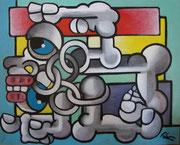 acrylique sur toile 41x33