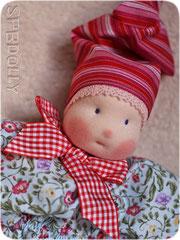 кукла из ткани для новорожденного