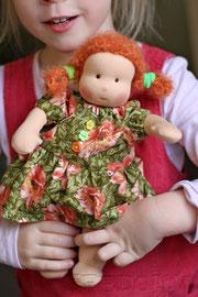 текстильная кукла для девочки безопасная и натуральная