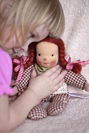 кукла текстильная для девочки