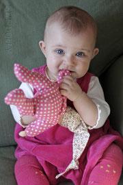 пупсик из ткани для малыша