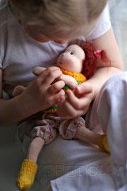 куклы для девочек ручной работы из натуральных материалов