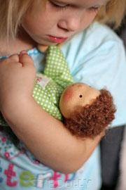 текстильные куклы в вальдорфском стиле