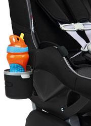 Flaschenhalter für Kinderautositze