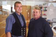 Bernhard Friedrichs und Senior-Chef Dieter Friedrichs