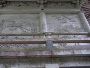 壁面の浮彫