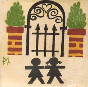 Diseño de Marta Portales Oliva con motivo del 25 Aniversario del Centro