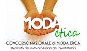 CONCORSO MODA ETICA: APERTE LE ISCRIZIONI