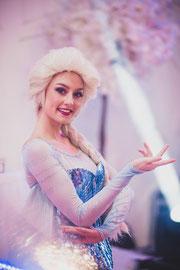 Anniversaire Reine des Neiges