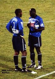 Bernard Lambourde et Fredéric Mendy
