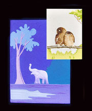 Notizbücher Elefantendung-Papier, Sri Lanka