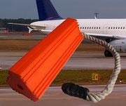 Flugzeug-Bremskeil