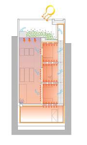 Proyecto Patiohaus. Vivienda Passivhaus. Passive House. Diseño. Arquitectura. Sevilla. Málaga. Edificio de Consumo Casi Nulo de Energía. NZEB. Andalucía. Eficiencia Energética. Sostenibilidad.  Arquitectura Tradicional.