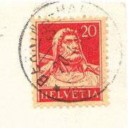 """Stempel vom 20.1.1928 """"Bernina-Haus"""" (241-001)"""