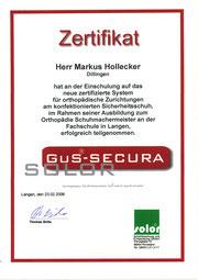 Steitz Secura  Arbeitsschuhe Zertifikat