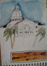 Havana - Blick vom auf das Parlamentsgebäude