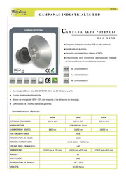 Campanas industriales Eco_line