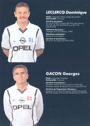 2000-01 - LECLERCQ Dominique et GACON Georges