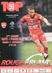 Programme  Valenciennes-PSG  2012-13