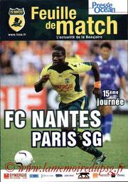 Programme  Nantes-PSG  2006-07