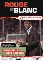 Programme  Valenciennes-PSG  2007-08