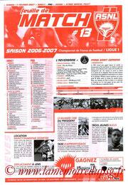 Programme  Nancy-PSG  2006-07
