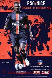 Programme  PSG-Nice  2006-07