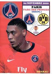 2010-11-04  PSG-Borussia Dortmund (4ème poule C3, Programme pirate)