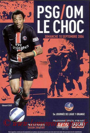 Programme  PSG-Marseille  2006-07
