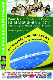 Affichette 4ème Gol de Letra  2005-06