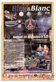 Programme  Troyes-PSG  2006-07