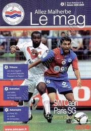 2008-08-30  Caen-PSG (4ème L1, Stade Malherbe N°2)