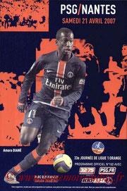 Programme  PSG-Nantes  2006-07