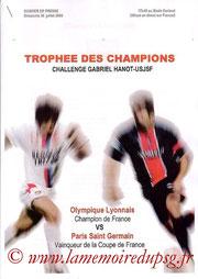 Dossier de presse  Lyon-PSG  2006-07