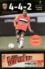 Programme  Lorient-PSG  2012-13