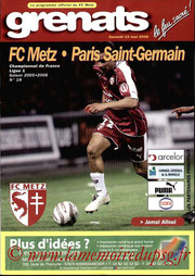 Programme  Metz-PSG  2005-06
