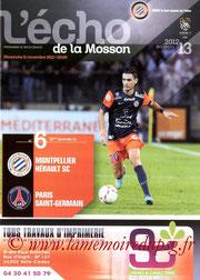 Programme  Montpellier-PSG  2012-13