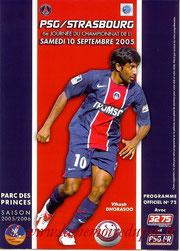 Programme  PSG-Strasbourg  2005-06