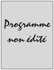Programme  Vermelles-PSG  2005-06