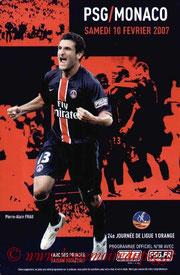 Programme  PSG-Monaco  2006-07