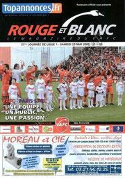 2009-05-23  Valenciennes-PSG (37ème L1, Rouge et Blanc)