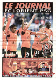 Programme  Lorient-PSG  2006-07