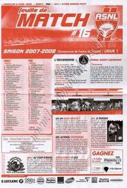 2008-04-06  Nancy-PSG (32ème L1, Feuille de Match N°16)