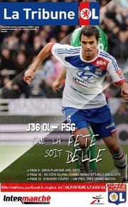 Programme  Lyon-PSG  2012-13